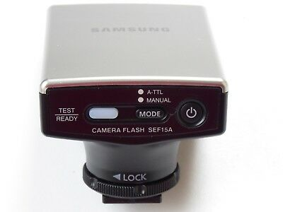 Samsung SEF15A dedicated Shoe Mount Flash for NX100 camera tested but never used