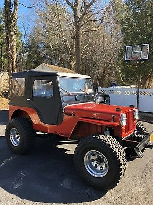 1961 Willys CJ2A 4WD 1961 Willys jeep