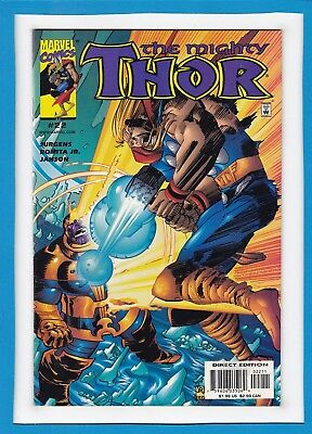 """Mighty Thor #22_April 2000_Very Fine_Thanos_""""tears Of The Gods""""!"""