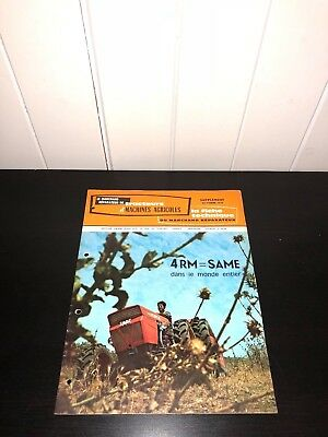 brochure PROSPECTUS MARCHAND REPARATEUR TRACTEUR SAME 4RM trattore-someca-ih