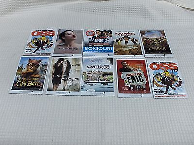 Lot de10 Cartes Postales - Affiches de Film