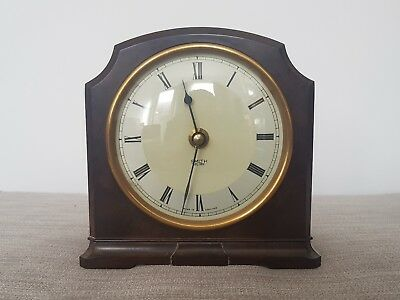 Smiths Bakelite Mantle Clock Working 1930s