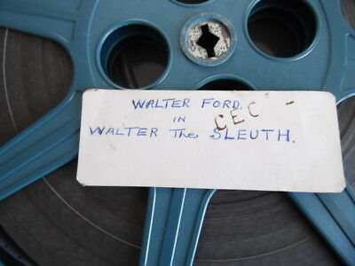 "16Mm Film ""walter Ford The Sleuth"""