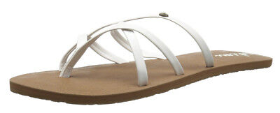 74119277c8bd D997 - WOMENS Volcom New School Sandals - NWT Size 8 White -  29400 ...