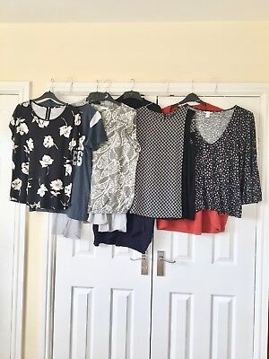 Womens Clothes Size 14 Bundle Tops Cardigans next H&M red herring etc