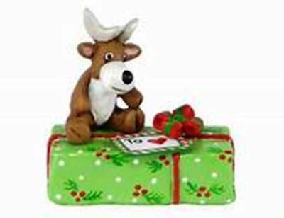 GIFT WITH REINDEER LIMITED 2015 Wee Forest Folk, WFF# A35
