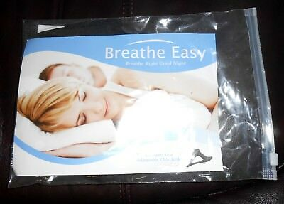 Breathe Easy Anti Snoring Chin Strap, Stops Snoring Comfortably, New!