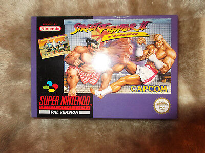 Snes Super Streetfighter 2 Turbo Cib Pal Not N64 Or Gamecube