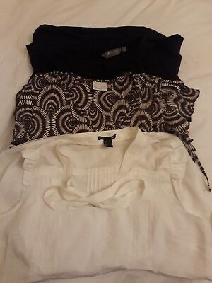 size 16 maternity summer work top bundle Next New Look H&M