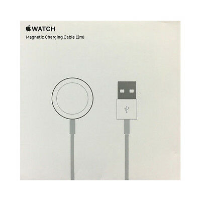 New! Genuine Apple Magnetic Charging Cable (2 m) for Apple Watch MJVX2AM/A