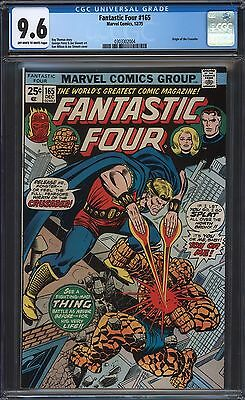 Fantastic Four #165 Cgc 9.6 Ow/w Pages