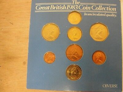 ~The Great British 1983 Coin Collection in UNC Quality (CC1136)