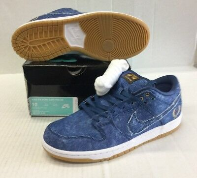 finest selection 44e55 b558e NIKE SB DUNK Low Trd Denim Qs #883232-441 East West Biggie Tupac
