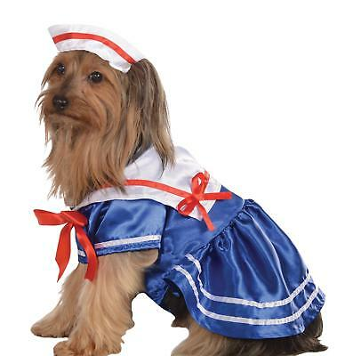 Pet Costume Sailor Girl Lg