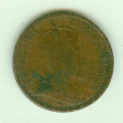 Straits Settlements 1905 1/4 Cent-Lot B12