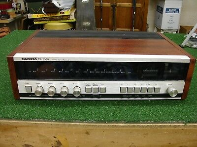 Tandberg Model TR-2060 FM/AM Stereo Receiver TR 2060 Used Tested - AS IS