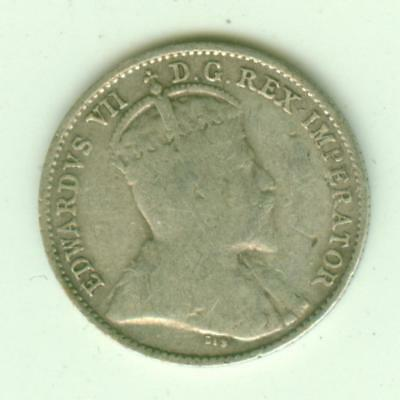 Canada Silver 1905 5 Cents-Lot A2