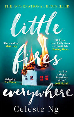 Little Fires Everywhere by Celeste Ng - NEW 2018 - paperback - send worldwide :)
