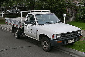 Toyota hilux tray back 07/1994. WRECK IR REPAIR. Stock Photo, not of item