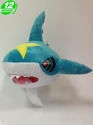 BIG 12 inches Pokemon Sharpedo Plush Stuffed Doll Soft PNPL2232