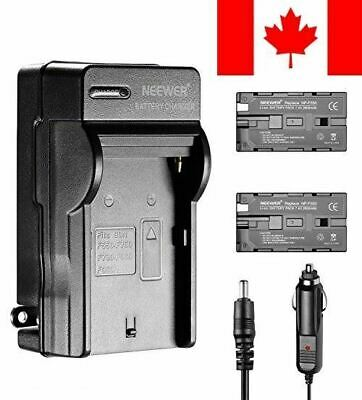 Neewer 2600mAh Li-ion Battery and Charger Kit for Neewer CN-160,CN-216,CN-126...