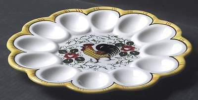 Ucagco EARLY PROVINCIAL Deviled Egg Plate 741528