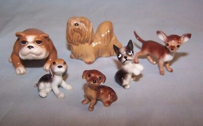 Hagen Renaker Miniature Dog Lot #2 - 6 different pieces