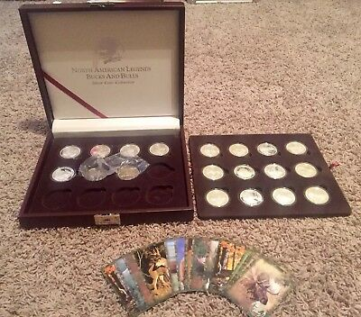 North American Hunting Club NAHC  Super Slam Silver Coin Collection and Cards