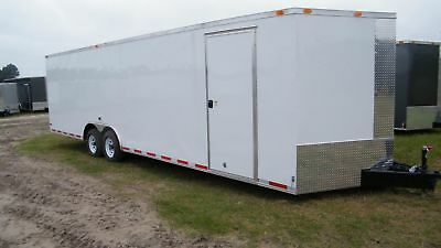 8.5X28 8.5 x 28 Enclosed Trailer Cargo 5200 VNose 30 Car Hauler Motorcycle 2018