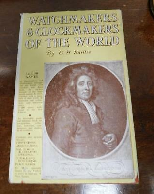 watch & clockmakers of the world by bailie