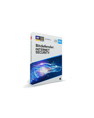 Bitdefender Internet Security 2019 - 5 PC/ 1-Year - CD