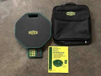 Refco Ref-Meter OCTA Refrigerant Charging Scale w/ Case & Manual  FREE SHIPPING!