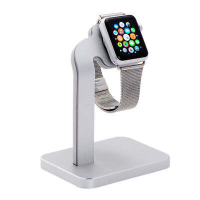 Aluminum Charging Dock Stand Station Charger Holder for Apple Watch iWatch 38/42