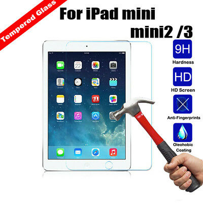 Premium Tempered Glass Anti-Scratch Screen Protector for 7.9 Apple iPad mini 2 3