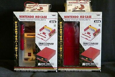 RARE collector's Nintendo MiniDisc MD Family Computer Case Banpresto Brand New