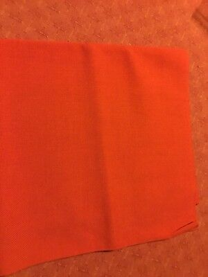 Cross Stitch Fabric - Red Lugano 50pc Synthetic & 50pc Cotton Blend