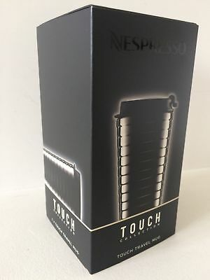 VERY PLEASANT TO HOLD Nespresso TOUCH collection Travel mug New & Boxed