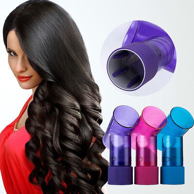 Hot Beautiful Women Curly Hair Quickly Magic Wind Spin Hair Dryer Diffuser Tools