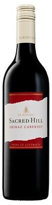 De Bortoli `Sacred Hill` Shiraz Cabernet  2017 (12 x 750mL), Riverina, NSW.
