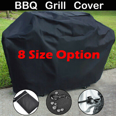 8 Sizes Waterproof Oxford Cloth Barbecue Covers Garden Patio BBQ Grill Protector