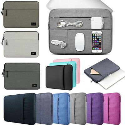 """AU Carrying Laptop Sleeve Case Pouch Bag For 11"""" 13""""15"""" 15.6"""" Ultrabook NoteBook"""