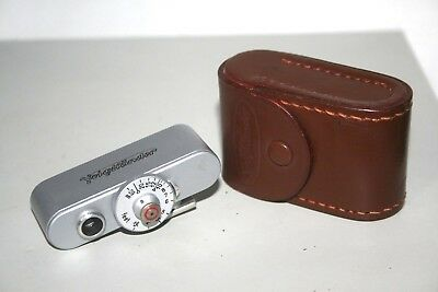VOIGTLANDER 93/184 Rangefinder with Brown Leather Case