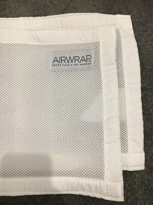 Airwrap Mesh Cot Bumper For Safety Pick Up Or Can Post