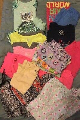 Girls Clothes/Dresses Lot of 16 Size 8 Spring/Summer/camp  Justice Gap Gymboree