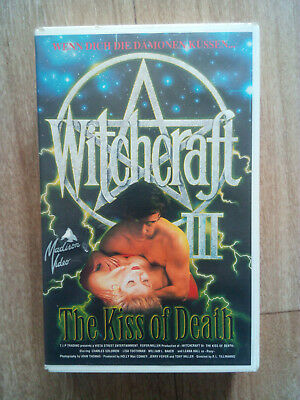 Witchcraft III - The Kiss of Death VHS
