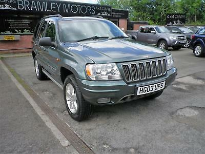 2003 Jeep Grand Cherokee 2.7 CRD Auto Overland * EXCELLENT LOW MILEAGE EXAMPLE *