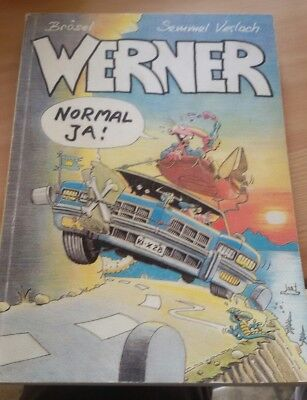 "Werner comic ""Normal ja!"""
