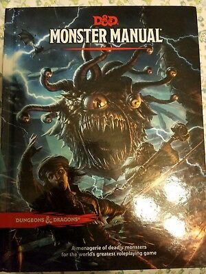 Monster manual dd core rulebook 3462 picclick dungeon dragons dd 5th edition monster manual sourcebook fandeluxe Image collections