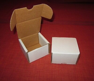 Lot Of 2 Bcw 200 Count Cardboard Storage Box / Baseball Trading Cards / 1-Bx-200