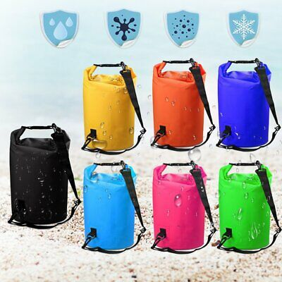 Waterproof Dry Bag Sack Storage Bag Canoe Kayak Camping Cycling Fishing 2-30L